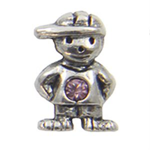 Picture of June Boy Birthstone Charm