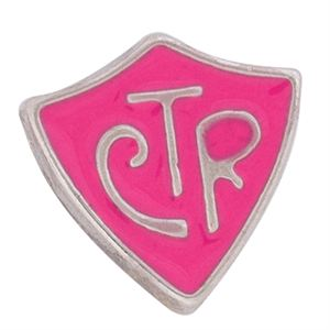 """Picture of Pink """"CTR"""" Charm"""