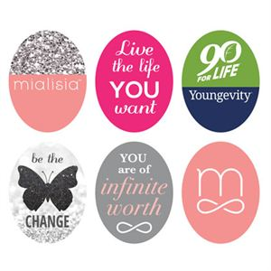 Picture of Logos Oval Locket Backdrops